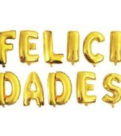 Globos letras Felicidades
