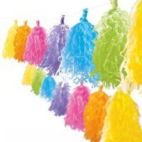 Guirnalda porras multicolores