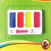 Pinta caritas colores flúor