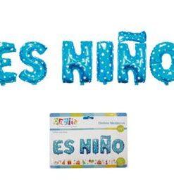 Globo letras Es Niño
