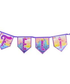 Guirnalda Feliz Cumpleaños de Shimmer & Shine