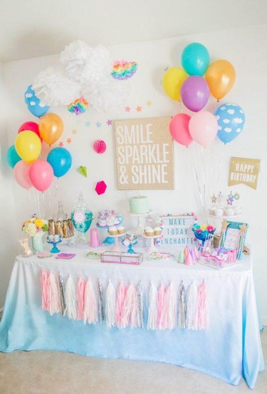 Ideas para fiesta de cumpleaños de Unicornios