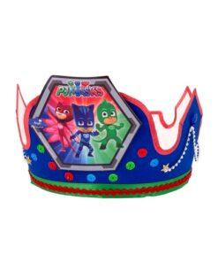 Gorro de cumpleaños PJ Mask