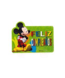 Vela 2D Mickey Mouse